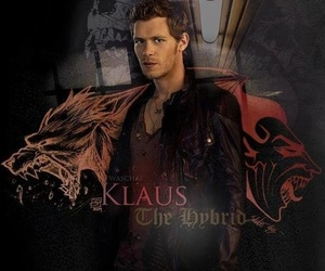 klaus, the vampire diaries, and tvd image