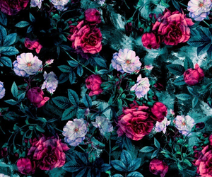 floral, flowers, and flower image