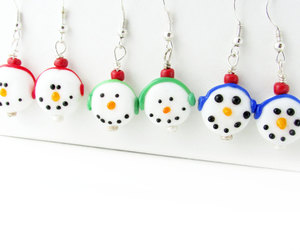 etsy, stocking stuffer, and dangle earrings image