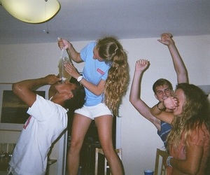 party, 90s, and grunge image