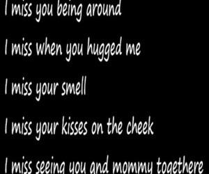 daddy, hugged, and miss you image