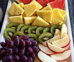 apples, grape, and pineapple image