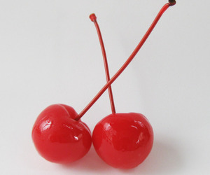 cherry, red, and aesthetic image