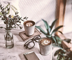 coffee, antique, and drink image