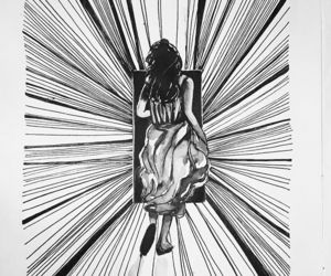 art, inktober2017, and artwork image