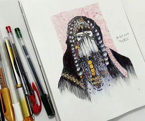 art, artwork, and fierce image