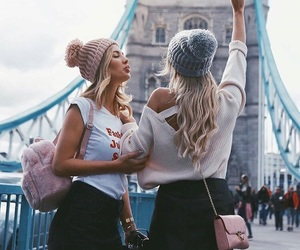 friendship, travel, and friends image