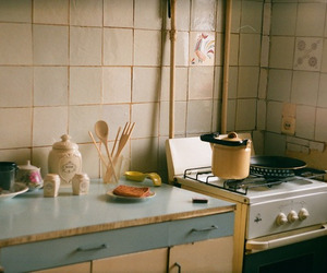 kitchen, vintage, and indie image
