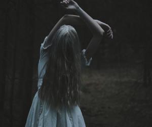 autumn, dark, and fantasy image