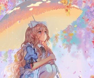 anime, alice, and anime girl image