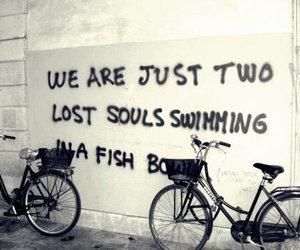 Pink Floyd, wish you were here, and bike image