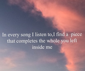 miss you, quote, and song image