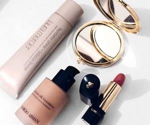 makeup, beauty, and Giorgio Armani image