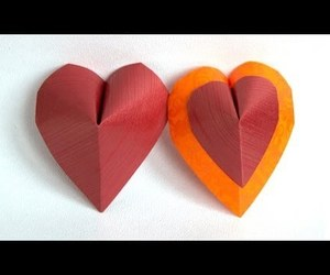 video, origami hearts, and valentine origami image