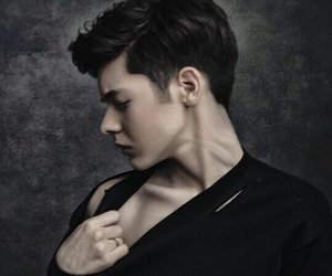 handsome, kristian kostov, and Hot image
