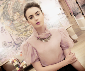 photoshoot, lily collins, and 2017 image