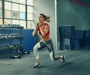 plan, workout, and lunge image