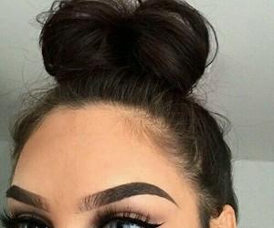 eyes, make up, and макияж image