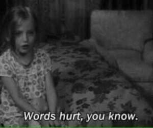 hurt, words, and quotes image