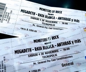 festival, heavy, and megadeth image