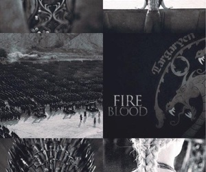 aesthetic, Collage, and game of thrones image