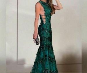 dress, graduation, and style image