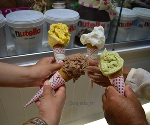 food, summer, and nutella image