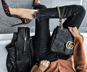 bags, black, and chanel image
