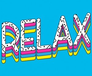 relax, typographi, and computer wallpaper image