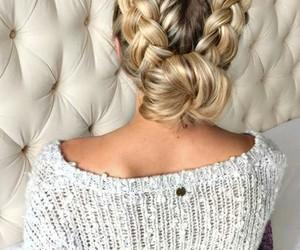 belleza, hair, and cabello image