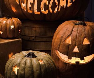 Halloween and pumpkins image