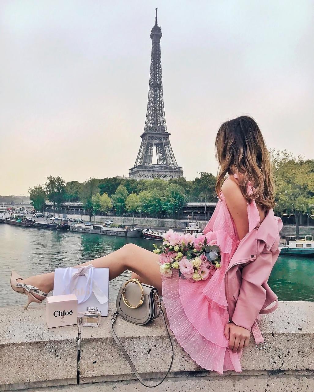 красивые виды парижа и парижанок фото ленты