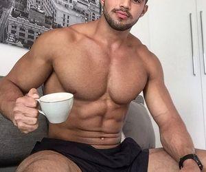 exercise, hunks, and shirtless guys image
