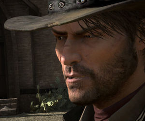 game, rockstar, and red dead redemption image