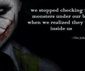 monster, quotes, and joker image
