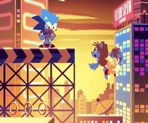 Sonic the hedgehog, miles tails prower, and studiopolis image