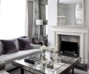 luxury, interior, and living room image