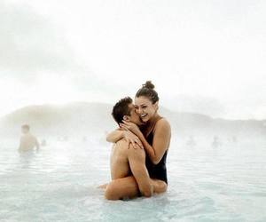 beach, kiss, and romantic image