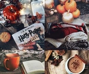 autumn, harry potter, and pumpkin image