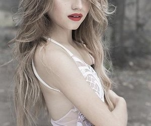 beautiful, blonde, and model image