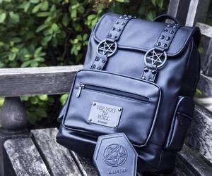 alternative, bag, and black image