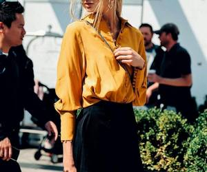fashion, model, and romee strijd image