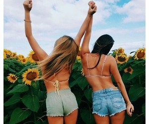 beautiful, best friends, and girly image