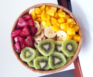 banana, FRUiTS, and breakfast image