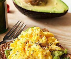 avocado, breakfast, and proteins image