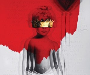 rihanna, anti, and album image