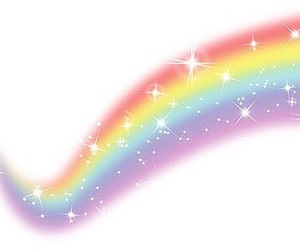overlay, rainbow, and png image