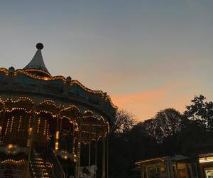 aesthetic, france, and merry go round image