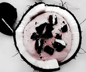 oreo, food, and coconut image
