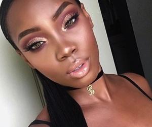 beauty, black beauty, and cosmetics image